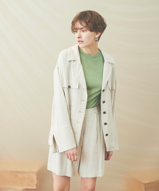 Open Collar Jacket