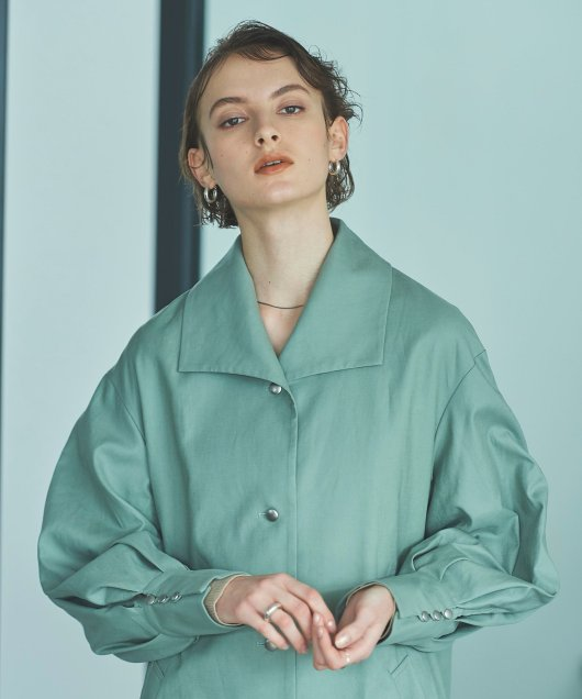 Aline Sourien Collar Coat