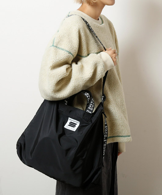 「SONAR POCKET × DOUBLE NAME」2WAY ショルダーBAG