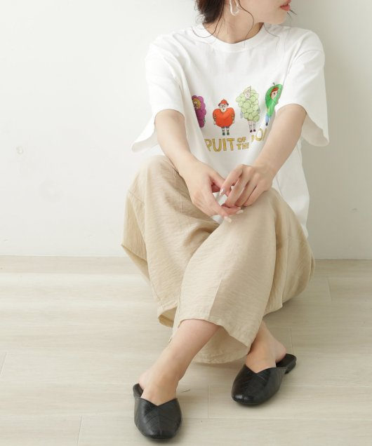 FRUIT OF THE LOOM×URATRA SPANCALL Tシャツ