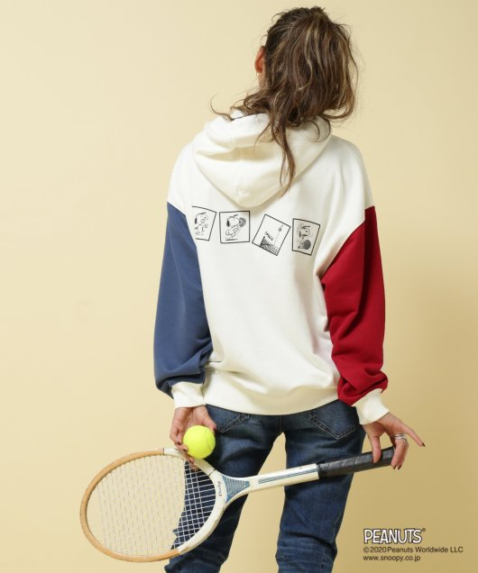 PEANUTS SPORTS TENNIS パーカー