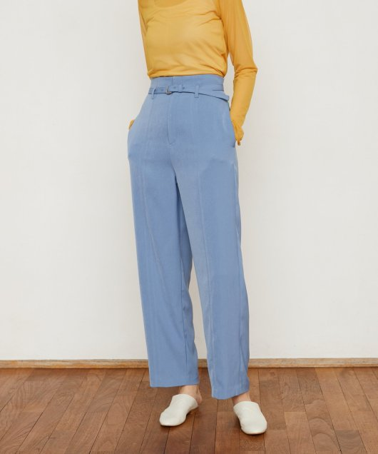 Center Seam Straight Pants
