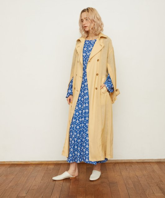 Cape Like Trench Coat