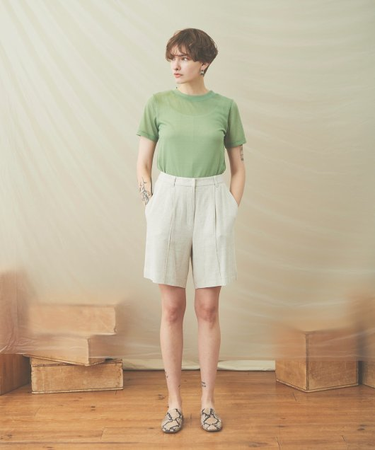 Center Seam Short Pants