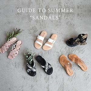 '21 Spring & Summer Sandals
